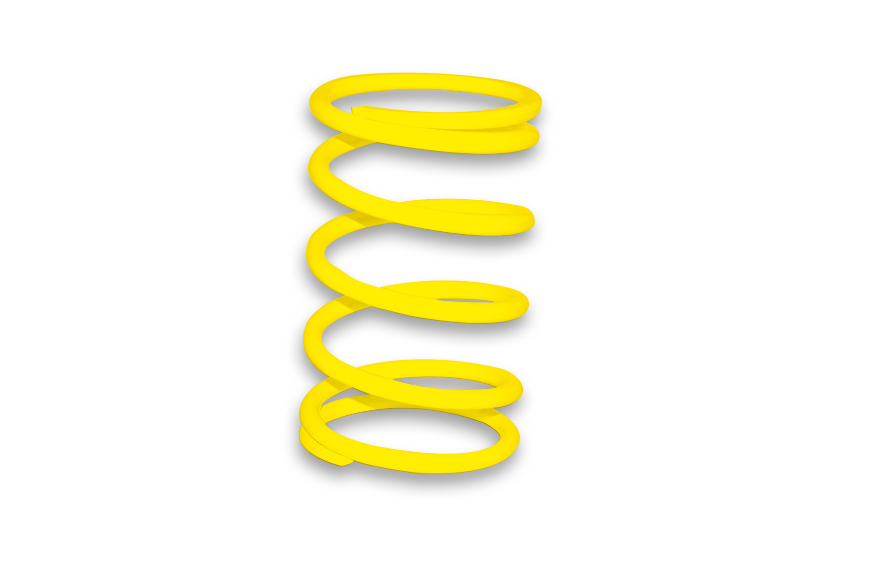 YELLOW VARIATOR ADJUSTER SPRING ext.Ø 57,8x90mm thread Ø 4,1mm 6,1k