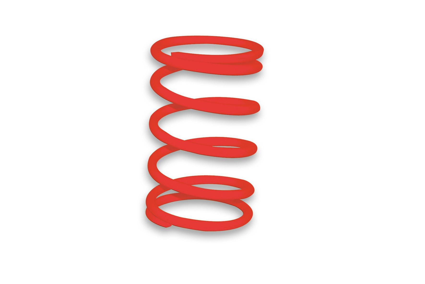 RED VARIATOR ADJUSTER SPRING ext.Ø 65x108mm thread Ø 4,7mm 7,5k