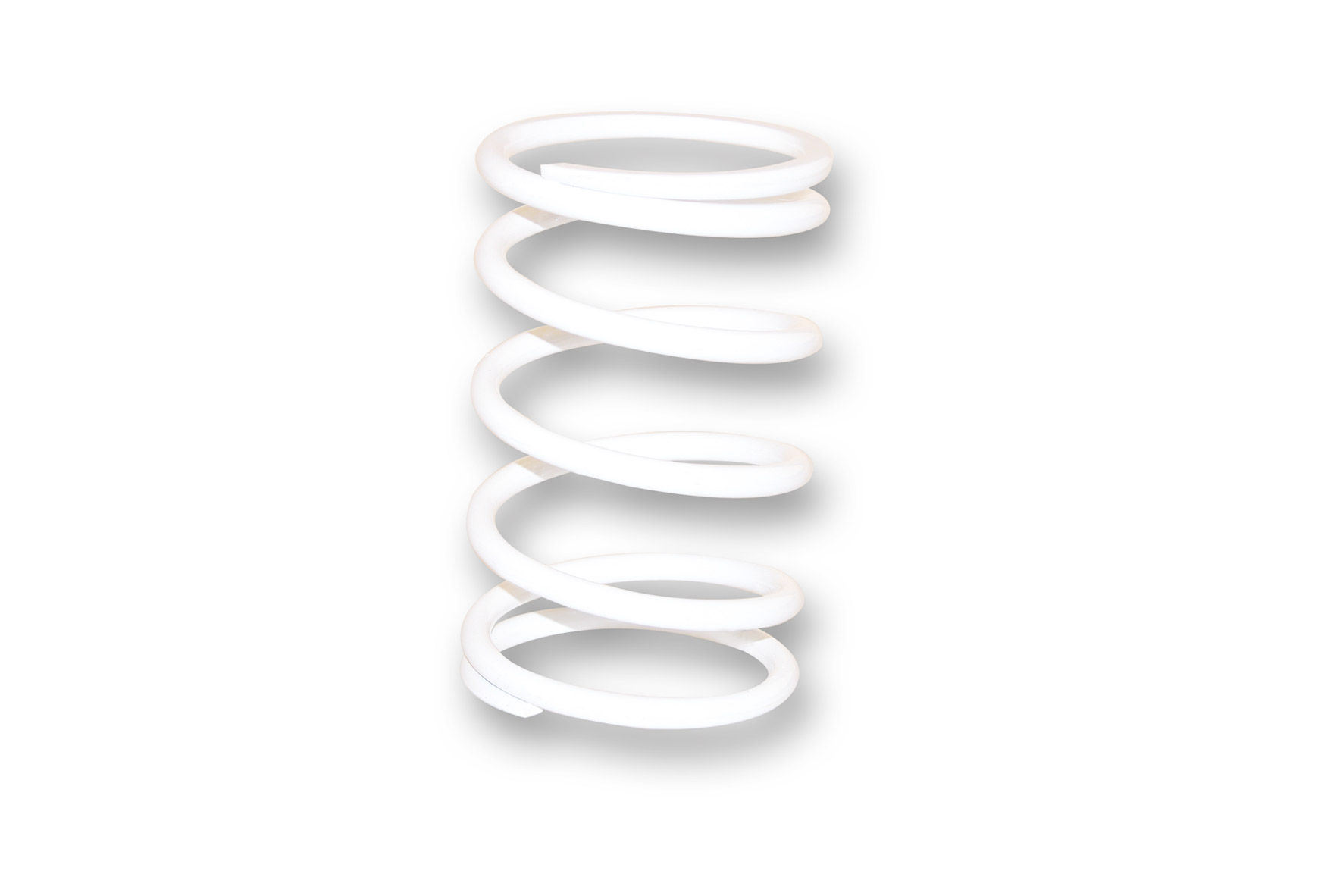 WHITE VARIATOR ADJUSTER SPRING ext.Ø 81x130mm thread Ø 7mm 15k