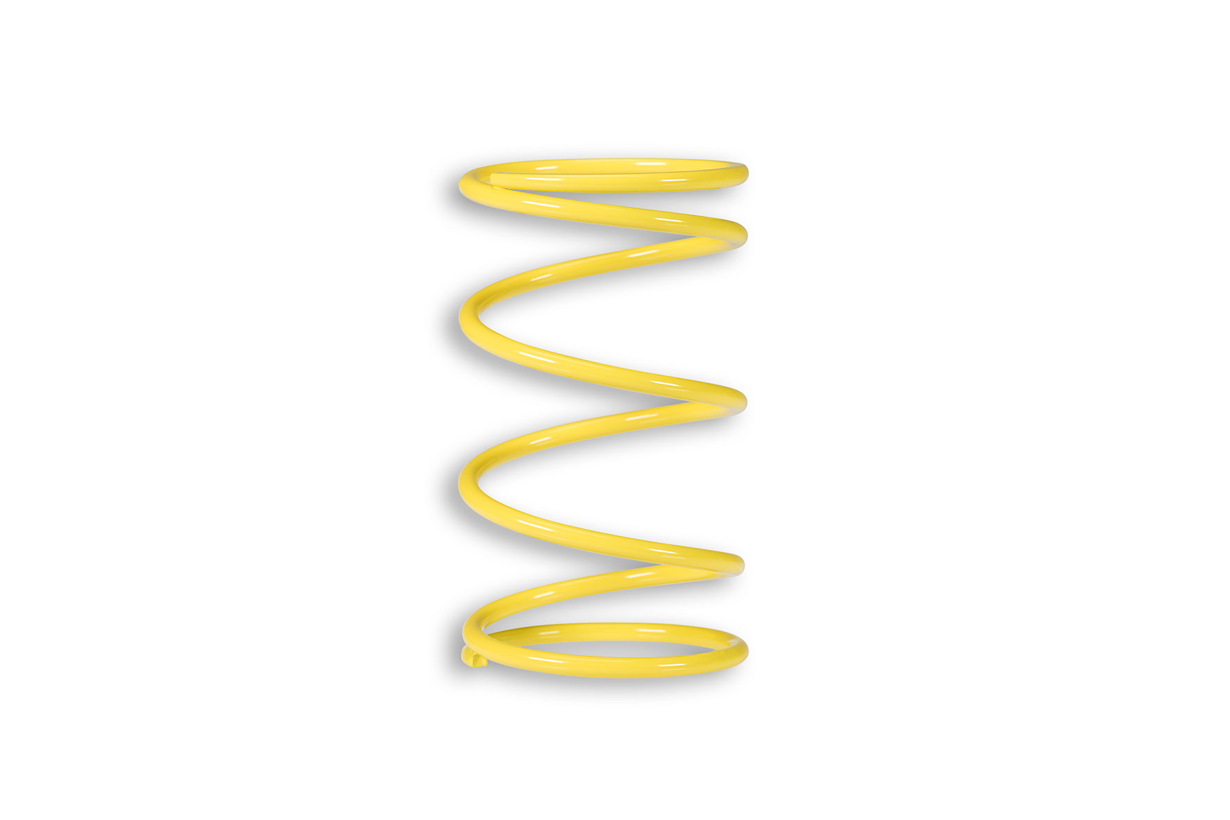 YELLOW VARIATOR ADJUSTER SPRING ext.Ø 65x112mm thread Ø 4,6mm 6,8k