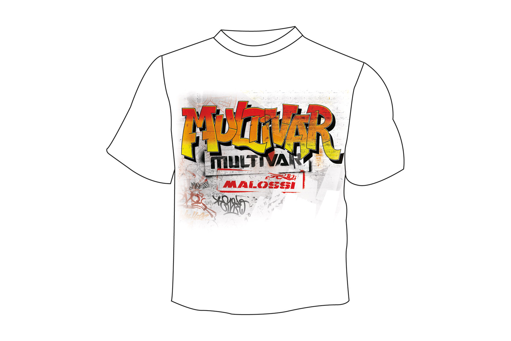 T-SHIRT MULTIVAR WALL ( M )