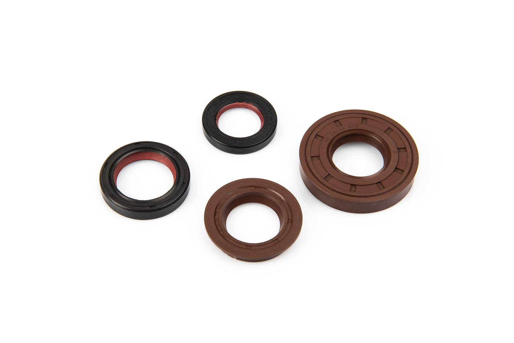 OIL-SEAL SET FKM/PTFE for OVERHAUL MINAR./YAMA.scooter/QUAD 50 2T